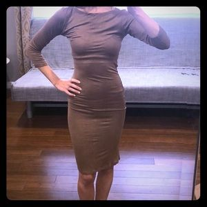Stretchy bodycon dress